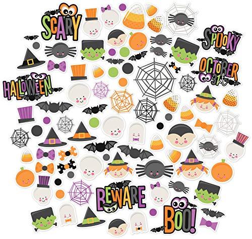 Paper Die Cuts - Halloween Cuties - Over 60 Cardstock Scrapbook Die Cuts - by Miss Kate Cuttables