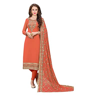 11940d5994 Amazon.com: Orange Designer Party Wear Pants Style Straight Punjabi Salwar  Kameez Patiala Custom to Measure Indian Ethnic wear 2799: Clothing