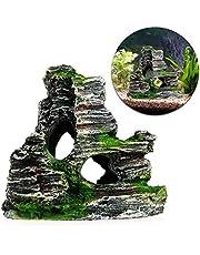 LANDUM - Adorno para Acuario con diseño de Cueva de Cuevas