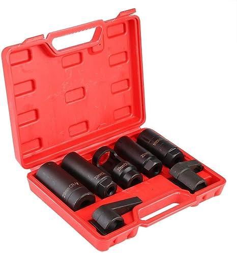 "3pc 7//8/"" Oxygen Sensor 02 Sockets Tool Set Automotive Wrench 7//8/"" 22mm 6 Point"