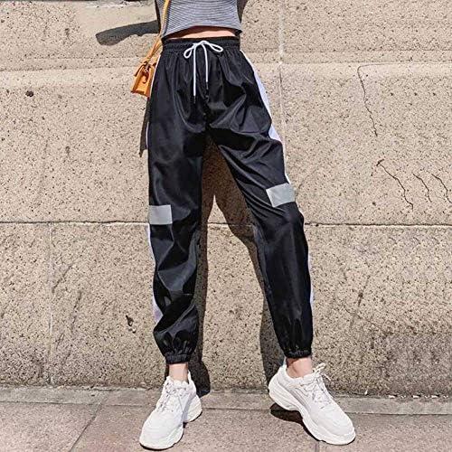 CKBYTH Pantalones Harajuku Hip Hop Pantalones Cargo Mujer ...