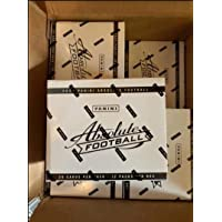 $114 » 2020 Panini Absolute NFL Football Factory Sealed CELLO Fat Pack box (12 pks/bx)