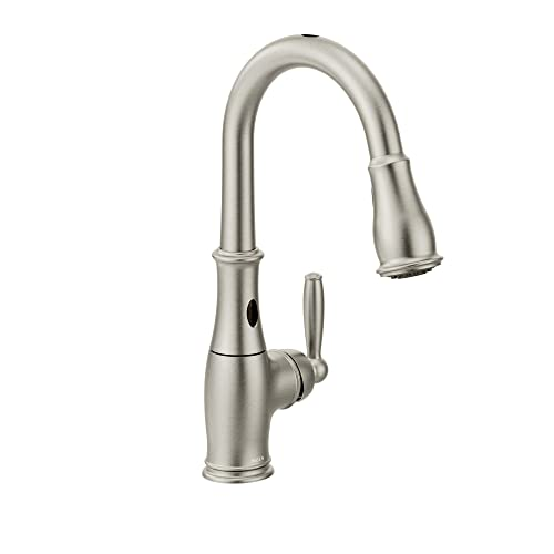 Moen 7185ESRS Brantford One-Handle High Arc Kitchen Faucet
