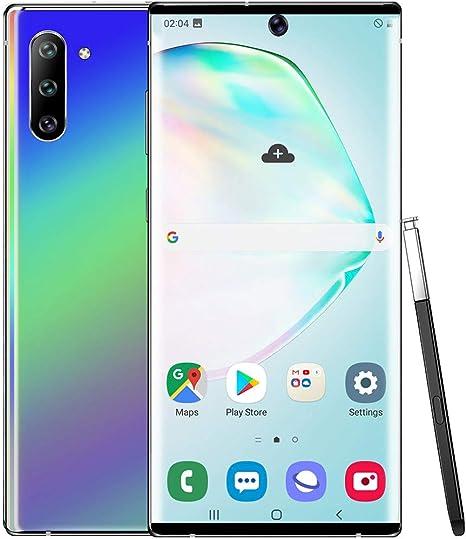 Smartphone Note 10, pantalla HD de 6,1 pulgadas, 1 G + 8 GB GPS, desbloqueo, tarjeta SIM doble, MTK6580P 10 núcleos, Android 9.1, Wi-Fi, Bluetooth 3G, llamada móvil morado: Amazon.es: Grandes electrodomésticos