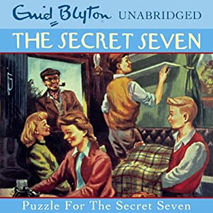 Puzzle for the Secret Seven Audiobook