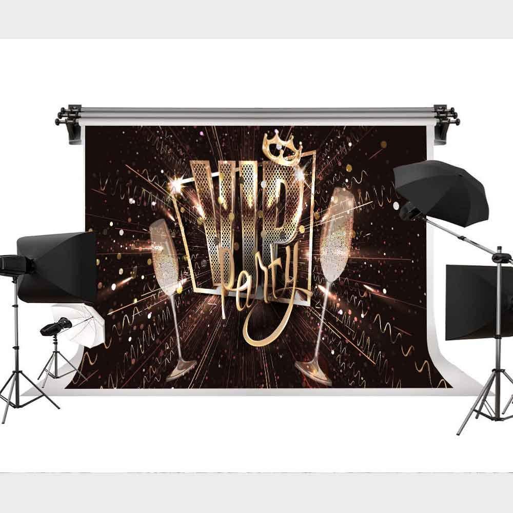 プレミアム VIP 背景 写真 写真 背景 ファッション パーティー 写真 装飾 9x6フィート STS LXST414   B07M5VS7RT