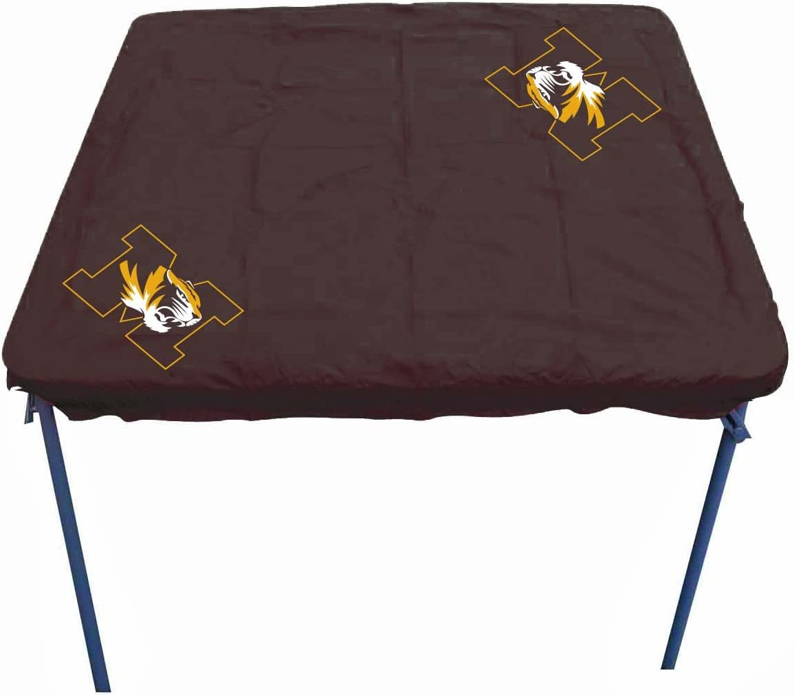 Orange Rivalry Outdoor Tailgating Team Logo Auburn Card Table Cover