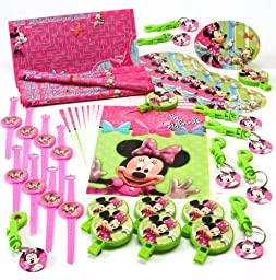 Hallmark 221982 Disney Minnie Mouse Bow-tique Party Favor Value Pack