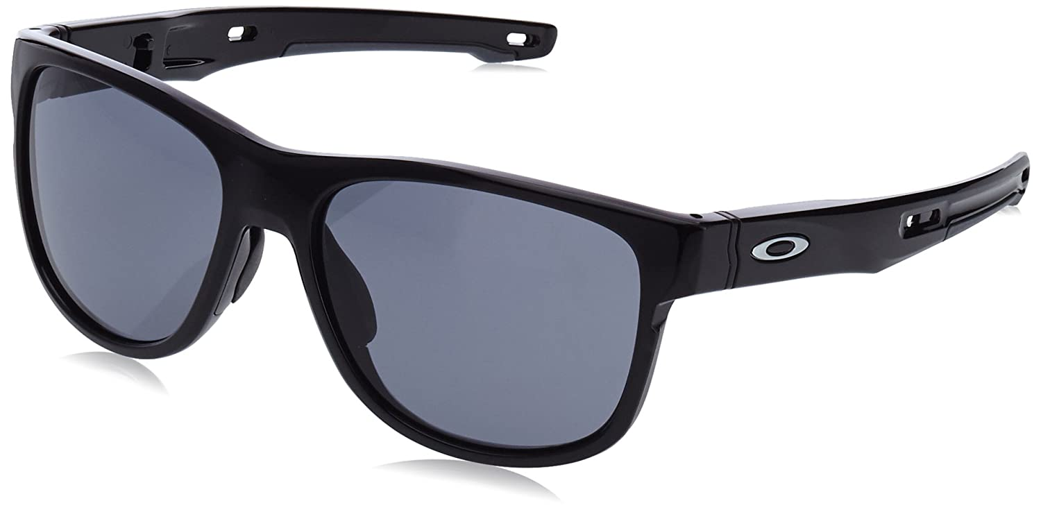 Oakley Crossrange R Sunglasses Black (Polished Black) 57 0OO9359