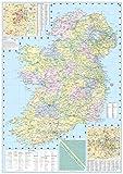 2018 Collins Ireland Road Map
