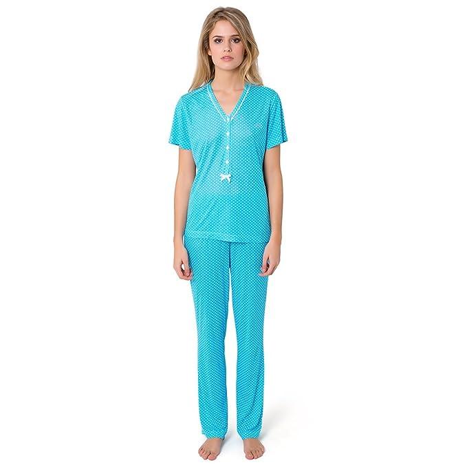 Pijama Largo Micromodal Topos