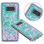 Galaxy S8 Case, VPR Sakura Liquid Quicksand Moving Stars Bling Glitter Floating Dynamic Flowing Love Heart Clear Soft TPU Protective Cover for Samsung Galaxy S8 9 Compatible Model: Samsung Galaxy S8. Material: High quality polycarbonate plastic and quicksand. The case is transparent with liquid inside,which is fashionable ,popular and interesting.