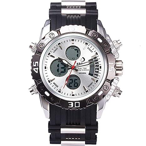 WULIFANG Hombre De Cuarzo Analógico Digital Led Reloj Militar De Hombres Impermeable Reloj Nueva Moda Mens