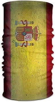 RP Amazing Magic Scarf,Bandera Española Sombreros De Piedra Pañuelos Pañuelo En La Cabeza Bufanda Tubo Mascarilla Diademas Cuello Polaina Pañuelo para Gym Running Riding 25x50cm: Amazon.es: Deportes y aire libre