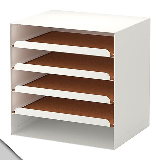 Amazon.com: IKEA KVISSLE – Carta de bandeja, color blanco ...