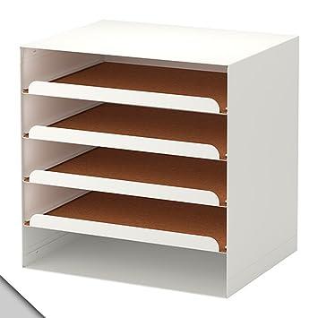 IKEA - bandeja KVISSLE carta, blanco
