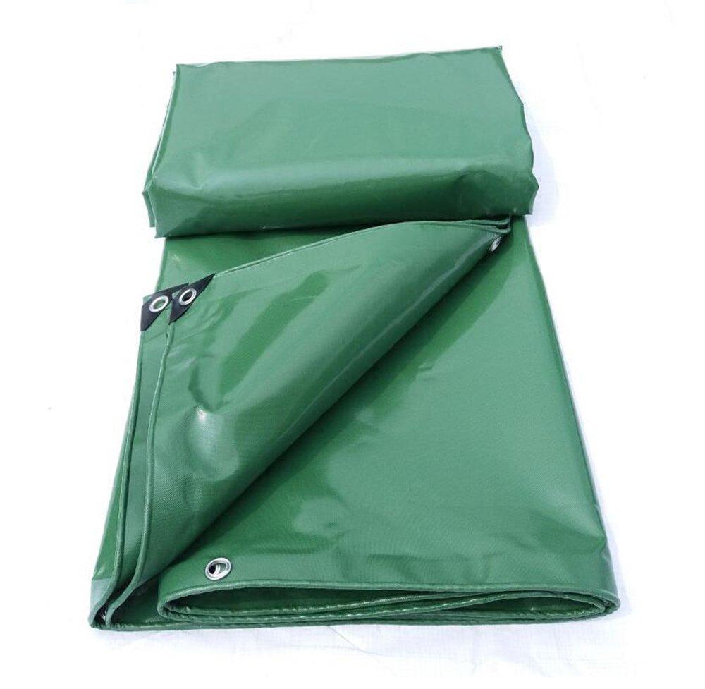 防水耐火日焼け止め耐久性のあるPVCナイフ布/トラックの防水シート/緑0.45ミリメートル屋外日よけ布/ 520グラム/平方メートル ( 色 : 緑 , サイズ さいず : 6*6m ) B07CRY13B5 6*6m|緑 緑 6*6m