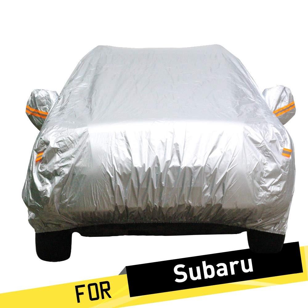 ERQINGCZ Wasserdichte Autoabdeckung Auto-Abdeckung Im Freien Sun Snow Regenschutz Anti Uv Car Covers Staubdicht Anzug