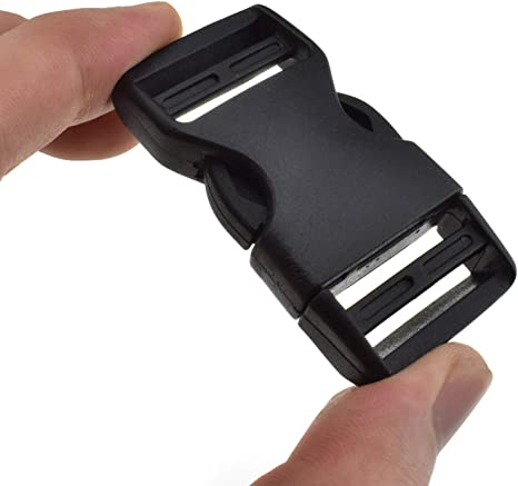 Side Release Buckles Clip 100 x 25mm for webbing Plastic Quick Release Buckles