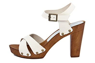 MARRADINI Damen - Sandale - Glattleder - 574_210_Nabuk_Camel