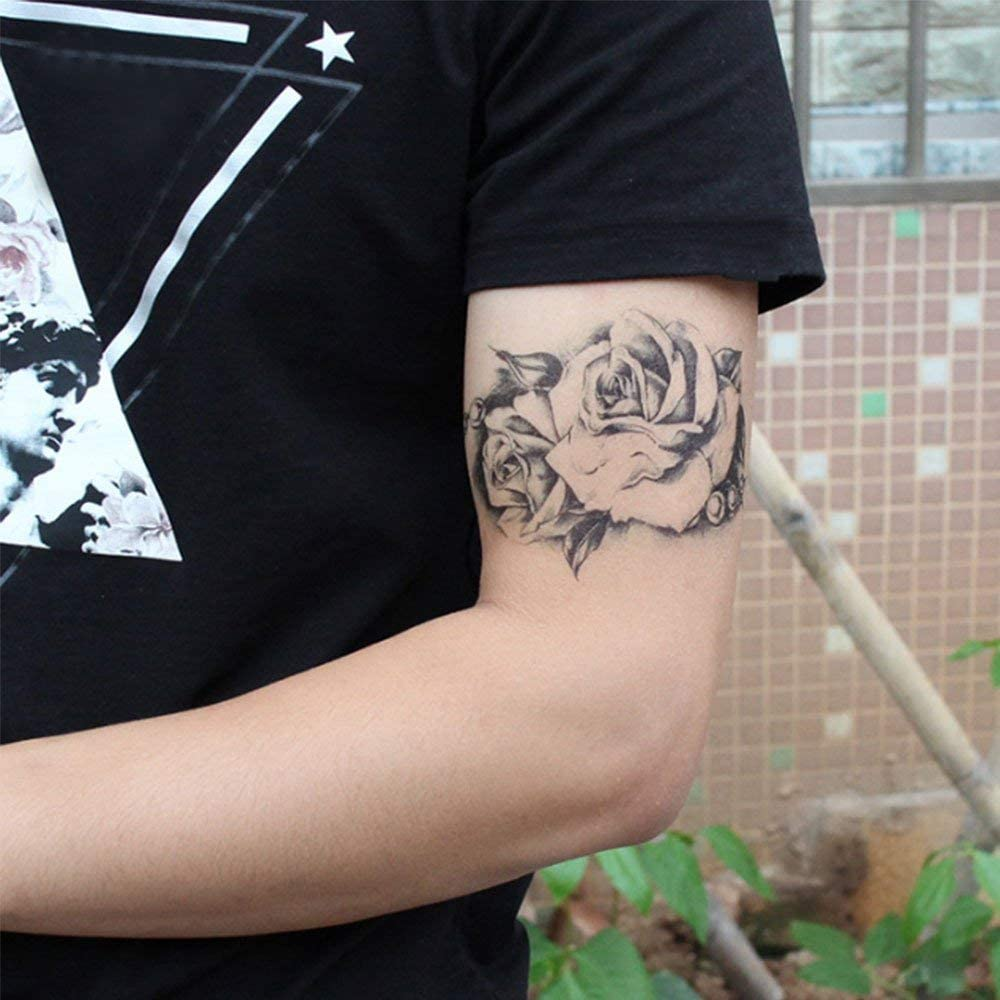 Pegatinas temporales para tatuaje, desmontables, impermeables, 3D ...