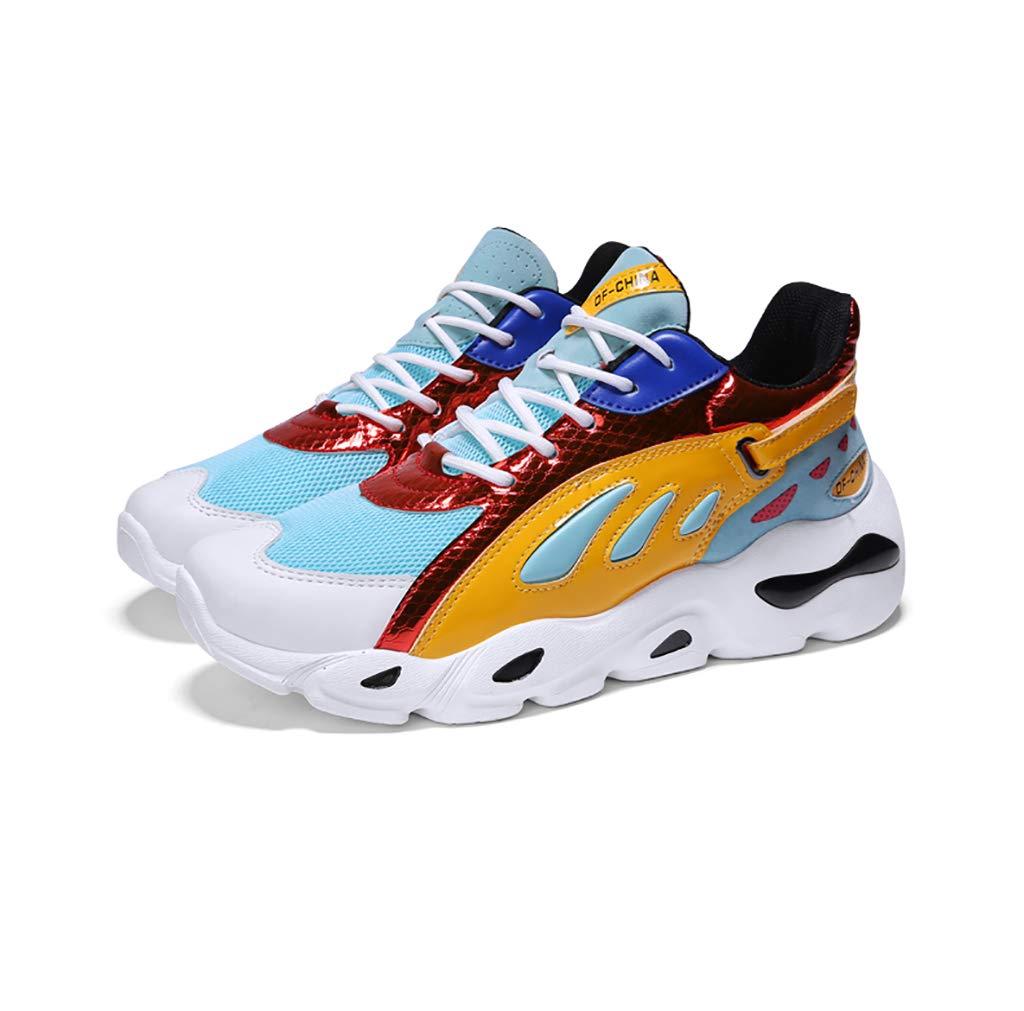 A ZYFA Casual skor skor skor Casual skor Fria skor med lädermaskor Platta gummisulor bär gympaskor (färg  E, Storlek  43)  världsberömd försäljning online