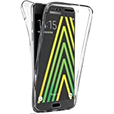 Coque Gel 360 Protection INTEGRAL Transparent INVISIBLE Samsung Galaxy A3 (2016) SM-A310F + Stylet + 3 Films OFFERTS