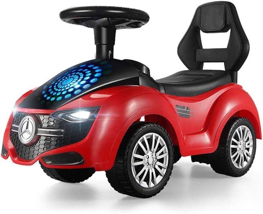 LKJCZ Twist Car, Balance Bike Trotter para niños con una Historia Musical Baby Scooter con Cuatro Ruedas Sube a un Juguete Giratorio para niños