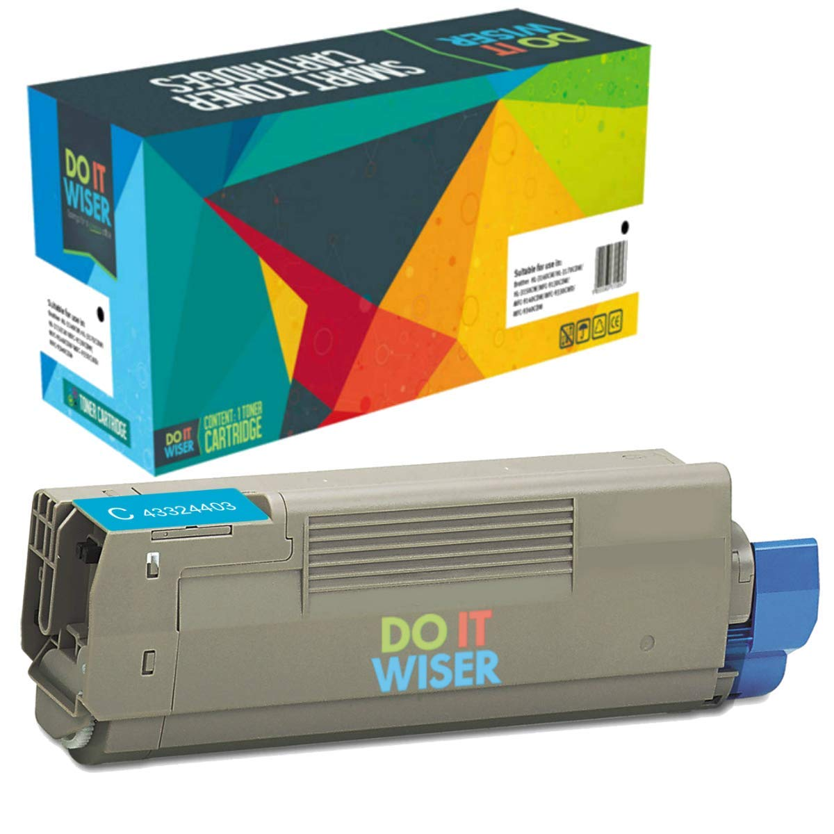 Toner Alternativo ( X1 ) Cyan C5500 C5500N C5500DN C5800 ...