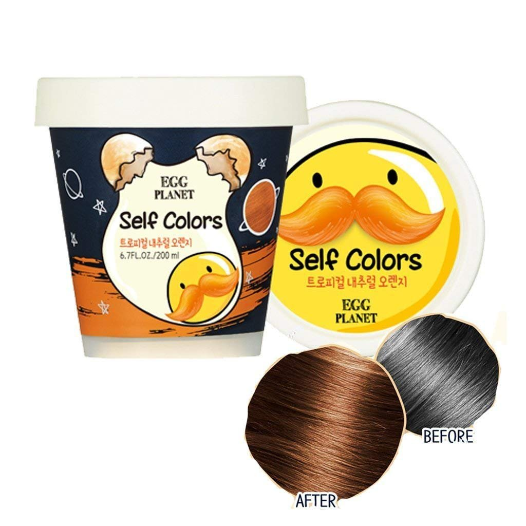 Amazon.com : [DAENG GI MEO RI] Egg Planet Self Colors 200ml - Hair ...