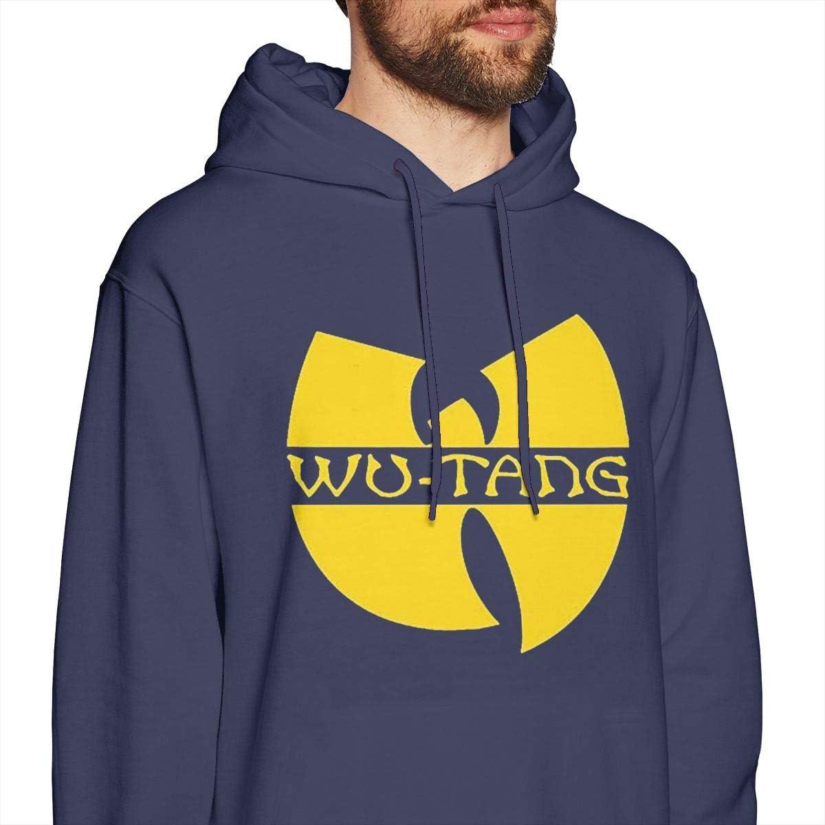 Mens Hooded Sweatshirt Wu Tang Personality Street Trend Creation Navy