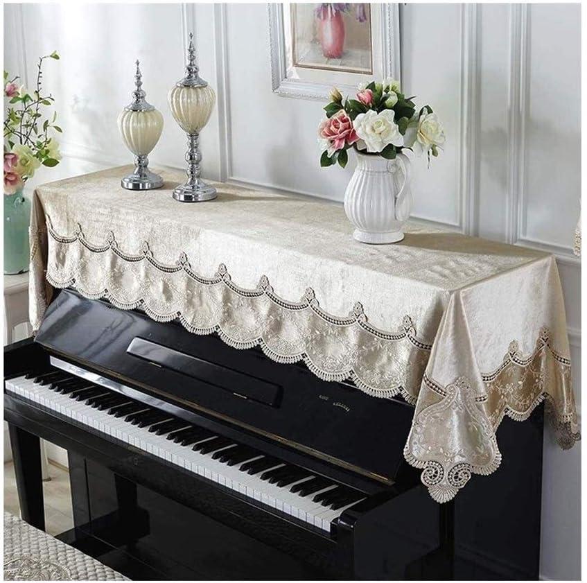 G-AO Cubierta cubierta de encaje piano cover universal de ...