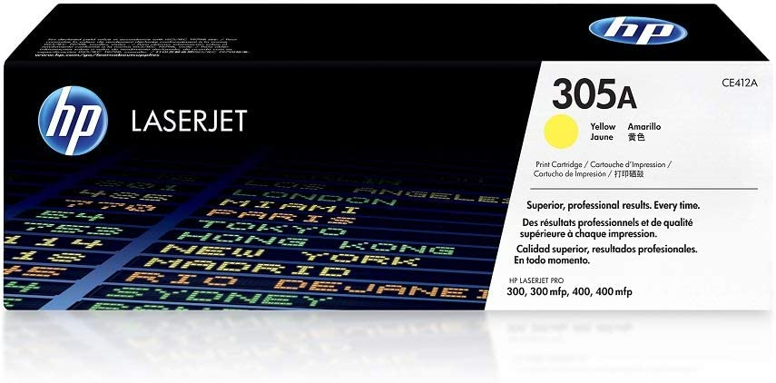 HP 305A | CE412A | Toner Cartridge | Yellow