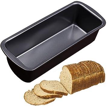 Molde antiadherente para pan largo, 23,5 x 9,5 x 6 cm