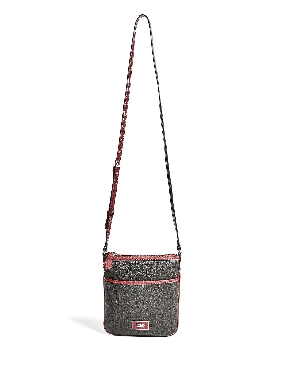 e7bafa5c75f GUESS Factory Women's Burnley Faux-Leather Logo Crossbody Bag