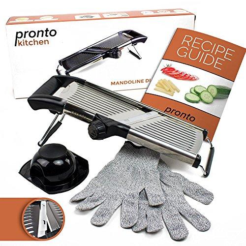 Pronto Kitchen Adjustable Stainless Mandoline product image