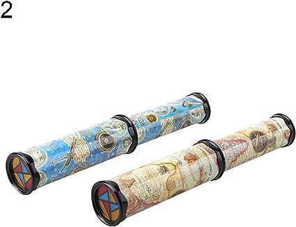 Rotatable Kaleidoscope Kids Children Educational Science Toy Birthday Gift
