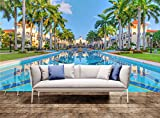 Wall Poster Luxury tropical resort Wall Print Wall Mural Wall Decal Wall Tapestry