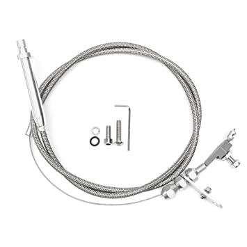 Amazon Com B Bangcool Throttle Cable Kickdown Cable Stainless Steel