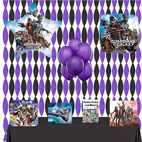 Guardians of the Galaxy Party Supplies and Room Decorating Kit