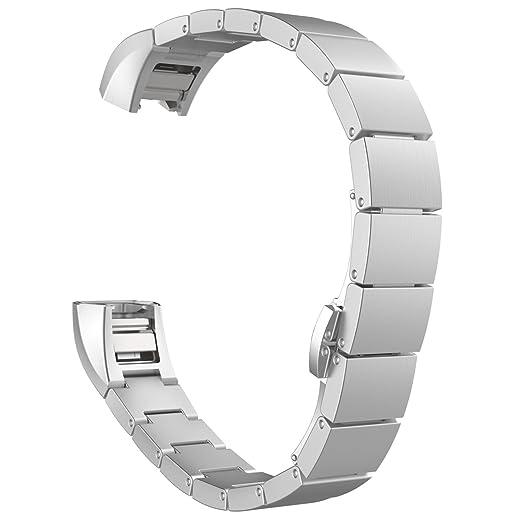 19 opinioni per MoKo Fitbit Alta / Alta HR Watch Cinturino, Braccialetto Sostituzione in Acciaio