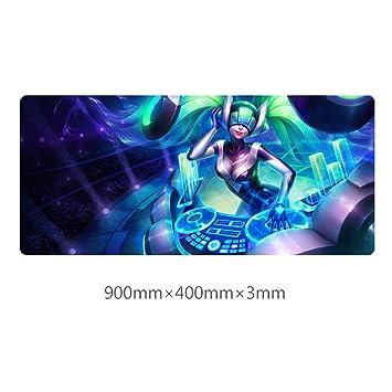 BEP LOL Sona - Alfombrilla de ratón (400 x 900 x 3 mm ...