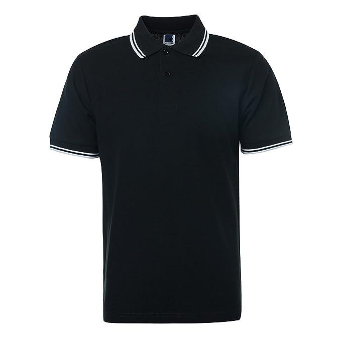 5b039a22e27 Richard Nguyen Brand Polo Shirt Men Casual Short Sleeve Polo Shirts Camisa  Masculina Homme Camisetas Big