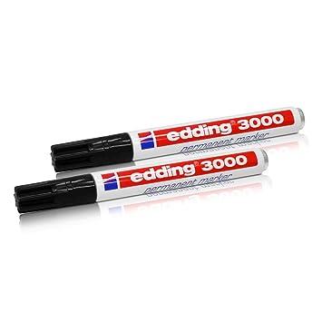1 mm 10x Edding Permanentmarker 400 nachfüllbar schwarz
