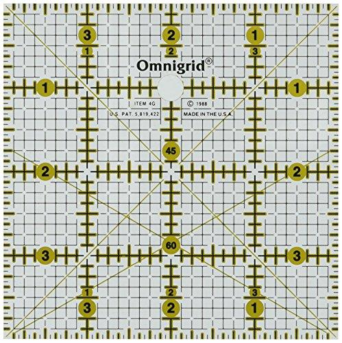 Omnigrid R4G 4-Inch by 4-Inch Grid (4in Ruler)