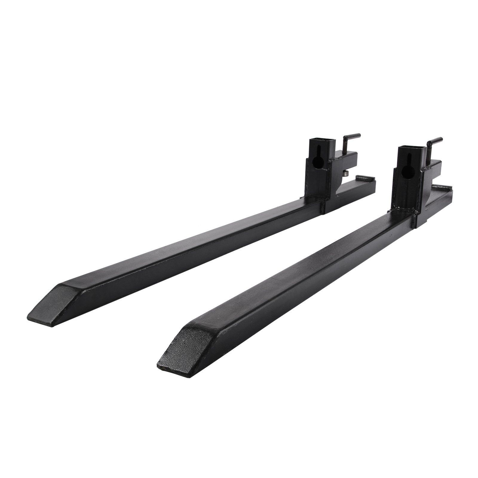 Mophorn Clamp on Pallet Forks 2000lbs Pallet Fork 43'' Pallet Forks for Tractor Bucket Loader Skid Steer (2000lbs)