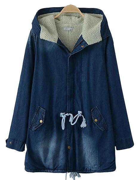 XUANDONG botones para mujer con aislamiento tornillos con taco de expansión Belted tela vaquera de pared para abrigos sudadera con capucha: Amazon.es: Ropa ...