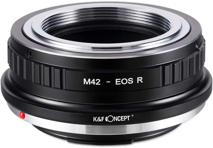 K/&F Concept Lens Mount Adapter for M42 Screw Mount SLR Lens to Canon EOS R Camera Body