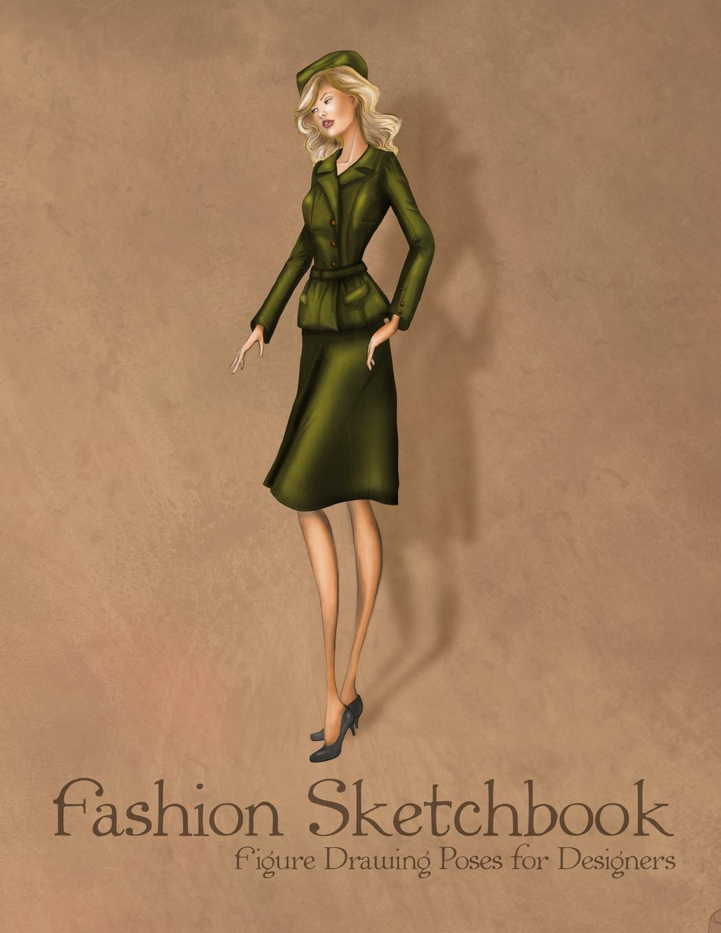 Fashion Sketchbook Figure Drawing Poses for Designers Large