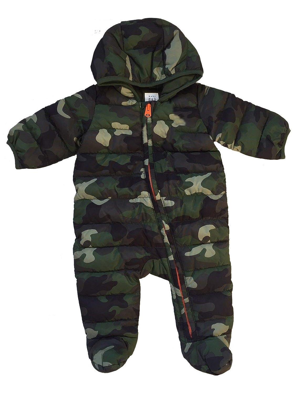 7f423b427315 Amazon.com  GAP Baby Boys Primaloft Camo Lightweight Snowsuit ...